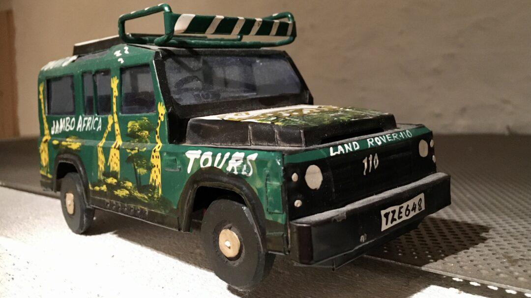 Land Rover. Legetøjsbil.