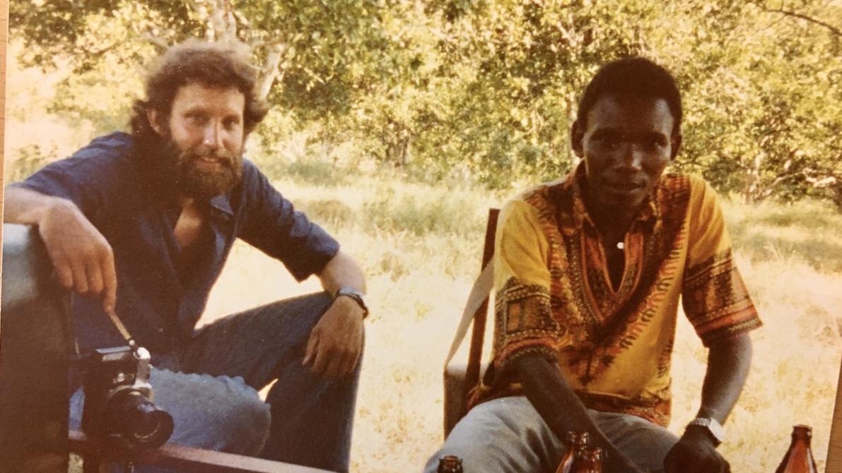 Gen Manager Kaaya og jeg. Muheza 1977